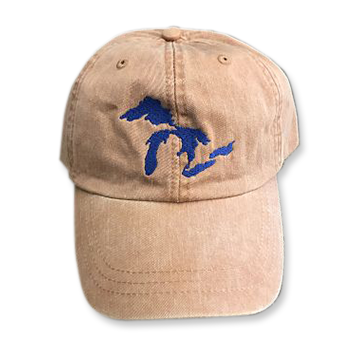 Great Lakes Embroidered Ball Cap - Terra Cotta