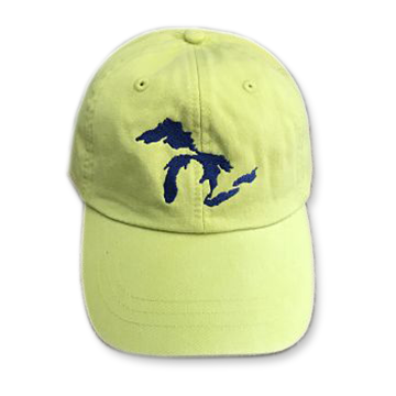Great Lakes Embroidered Ball Cap - Apple