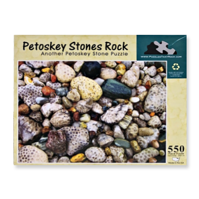 Petoskey Stones Rock Puzzle