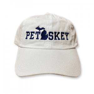 Petoskey Hat - White Embroidered Logo