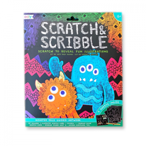 Scratch & Scribble - Monster Pals