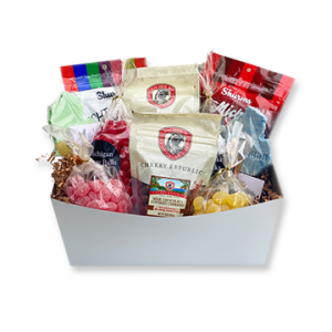 The Candy Cravers Box lemon drops cherry drops gummies chocolate