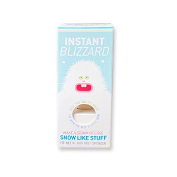 instant blizzard fake magic snow