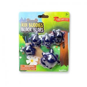 Kiji Buddies - Black Bears sensory toy