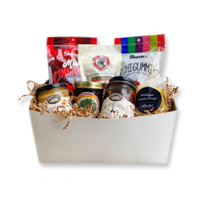 Michigan Goodies Gift Box Gummies Mustard Salsa