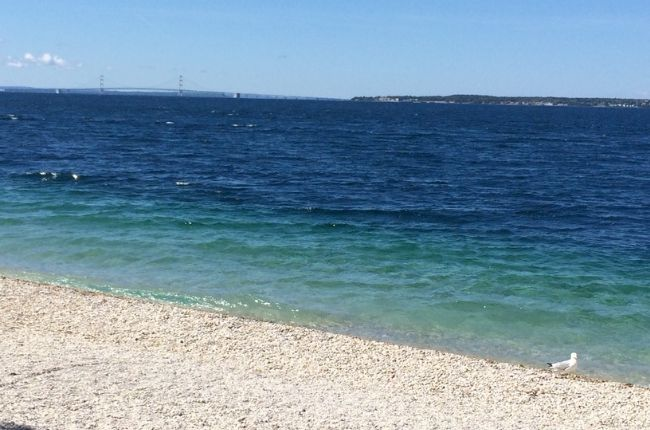 Mackinac Island is one of the most beautiful places in Michigan to visit. A car free, scenic island with lots of things to do and beautiful sights to see.