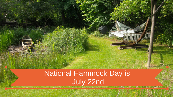 National Hammock Day is July 22