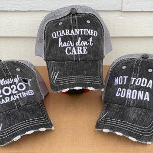 COVID-19 Humorous Hats