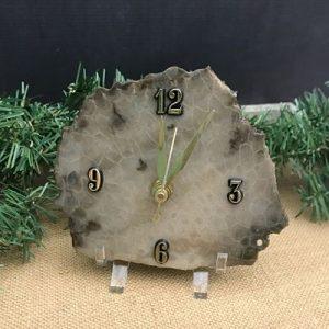 Petoskey Stone Clocks & Bookends