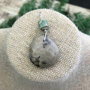 Petoskey Stone Pendants