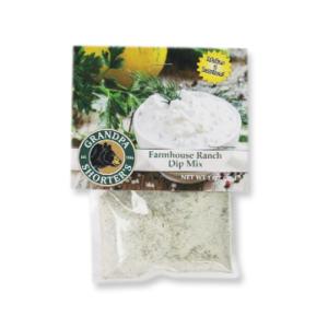 Grandpa Shorter's Farmhouse Ranch Dip Mix Sour Cream