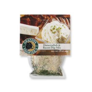 Grandpa Shorter's Horseradish & Bacon Dip Mix Sour Cream