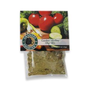 Grandpa Shorter's Garden Medley Dip Mix Add Sour Cream and Mayonnaise Veggie Chip Dip