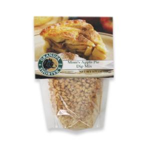 Grandpa Shorter's Moms Apply Pie Dip Mix Cream Cheese Crackers Fruit Spread