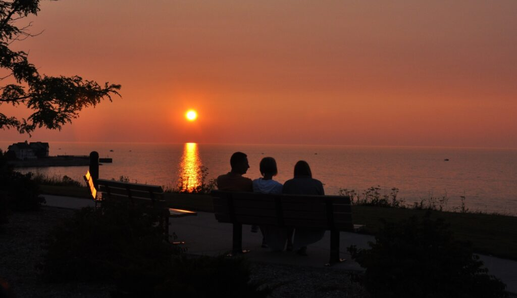 EAST PARK PETOSKEY BEST PLACES TO WATCH THE SUNSET IN PETOSKEY