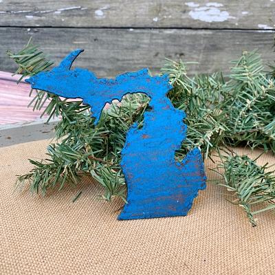 Michigan Magnet - Bright Blue
