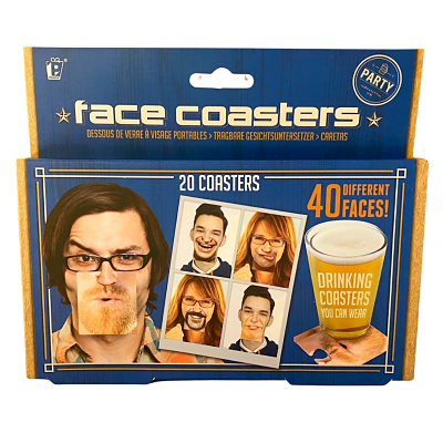 Face Drinking Coasters