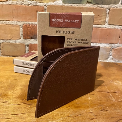 Rogue Front Pocket Wallet in Classic Brown