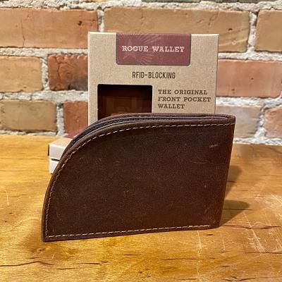 Rogue Front Pocket Wallet in Bison