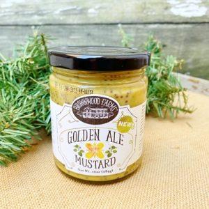 Brownwood Farms Golden Ale Mustard
