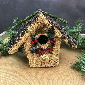 Small Birdie Cottage Bird House B