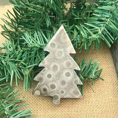 Petoskey Stone Christmas Tree A