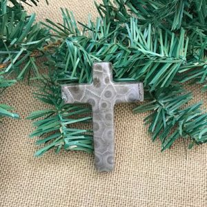 Petoskey Stone Cross A