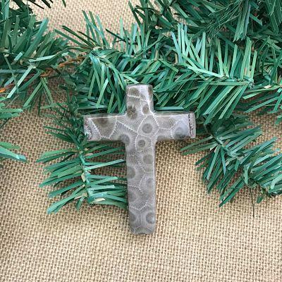 Petoskey Stone Cross A