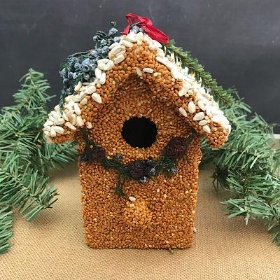 Small Birdie Cottage Bird House E