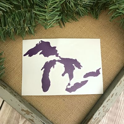 Great Lakes Proud Sticker - Purple