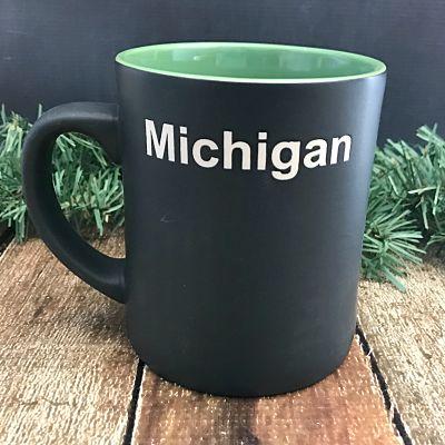 Black & Green Great Lakes Mug