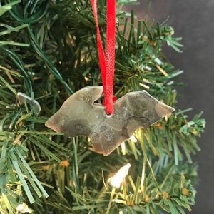 Upper Peninsula Petoskey Stone Ornament D