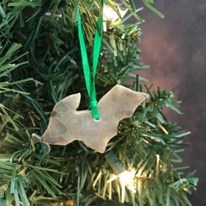 Upper Peninsula Petoskey Stone Ornament M