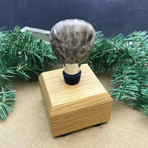 Petoskey Stone Wine Stopper F