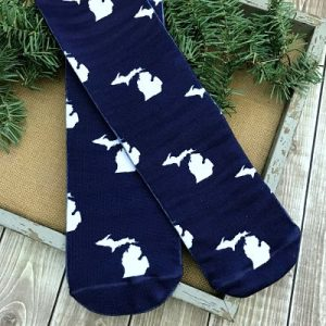 State of Michigan Crew Socks