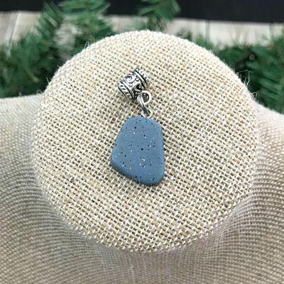 Leland Blue Beaded Pendant C