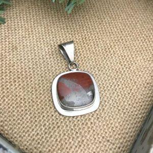 Pudding Stone Pendant A