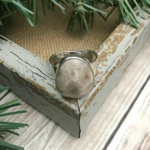 Petoskey Stone Adjustable Ring B