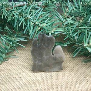 Lower Peninsula Petoskey Stone Magnet U