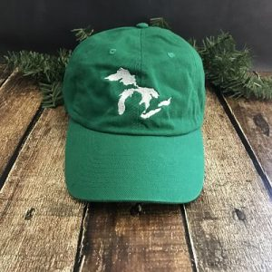 Great Lakes Embroidered Ball Cap - Kelly Green