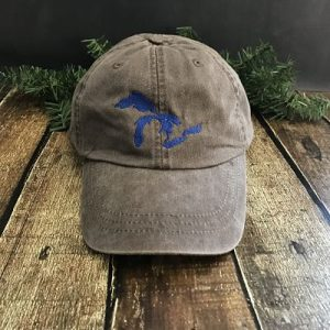 Great Lakes Embroidered Ball Cap - Expresso