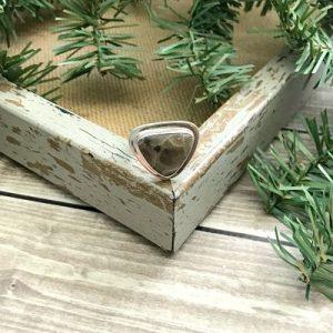 Petoskey Stone Adjustable Ring N