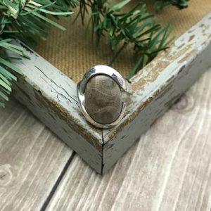 Petoskey Stone Ring F - Size 7
