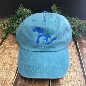 Great Lakes Embroidered Ball Cap - Teal