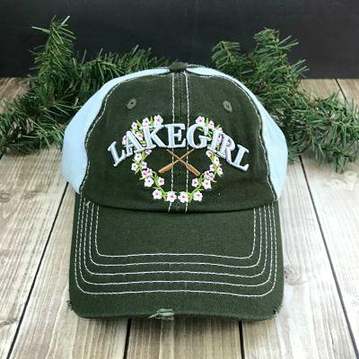 Floral Lake Girl Ball Cap
