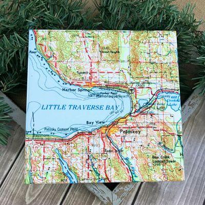 Little Traverse Bay Trivet - Small