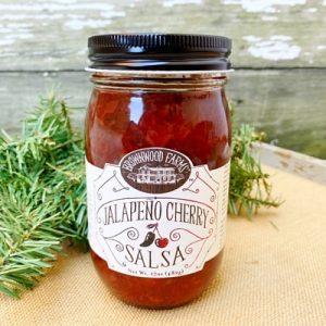 Brownwood Farms Jalapeño Cherry Salsa
