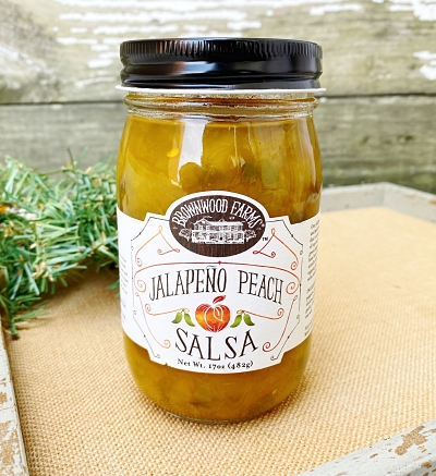 Brownwood Farms Jalapeño Peach Salsa