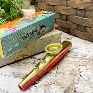Metal Toy Kazoo
