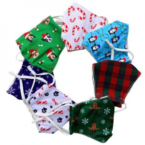 Christmas Fabric Masks - Kids